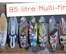 Test Wave 85 litri multi-fin 2011