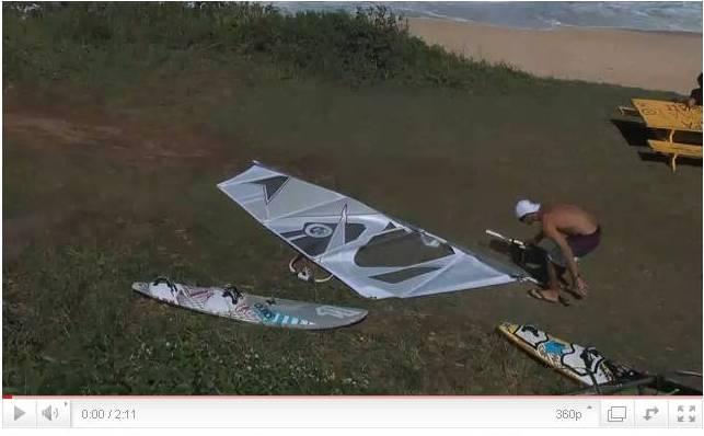 Testing 2012 North Sail 2012 ? Brawzinho fa i test a Maui