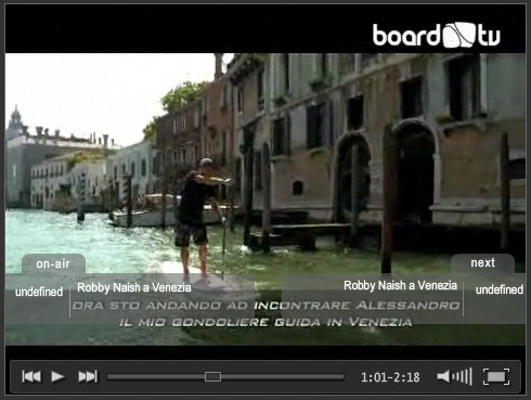 Robby Naish a Venezia