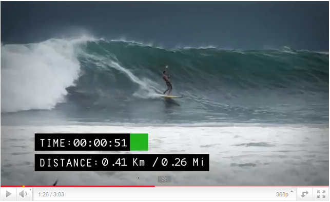 one of the longest wave?