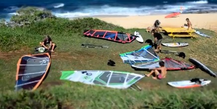 The french Windsurf movie