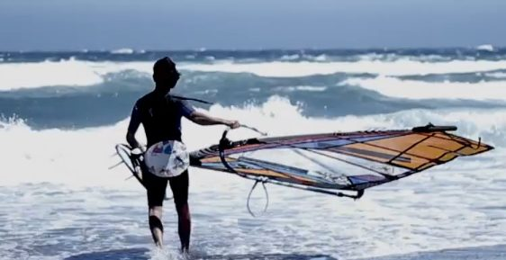 Alex Mussolini & New 2013 equipment Gaastra – Tabou