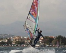 Windsurf Freestyle Super slow Motion