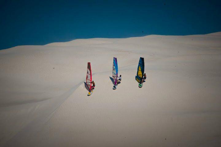 windsurfing dune