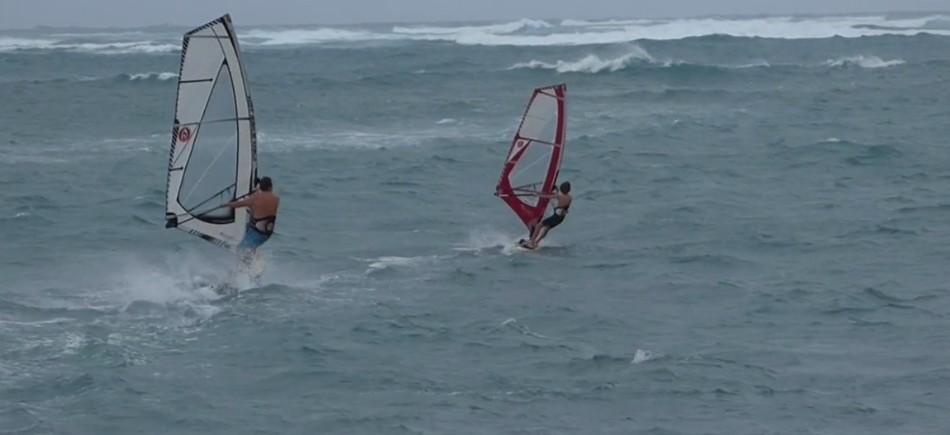 Stormy Sunday Sailing